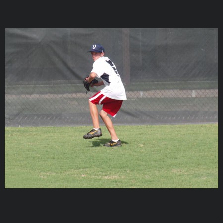 Pitching Clinic student implementing what he has learned!