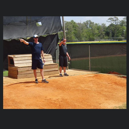 Kevin Beirne & Tom House teaching pitching mechanics
