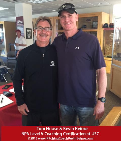 Kevin Beirne Tom House NPA USC 2015