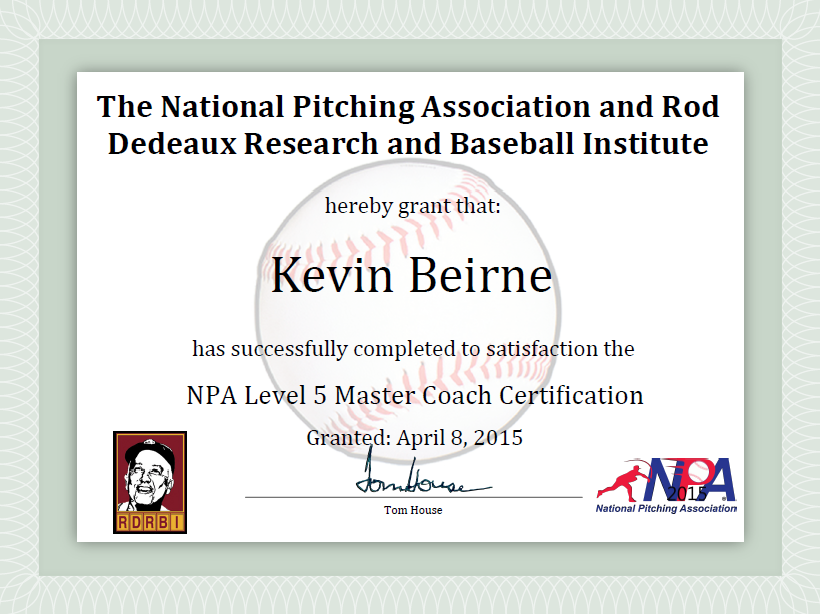 NPA Level 5 Master Coach Certification